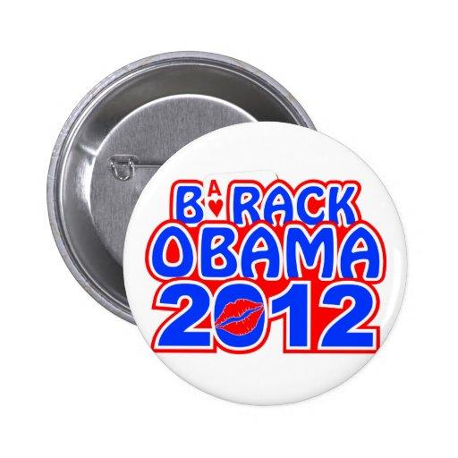 Botón del as de Obama Pins