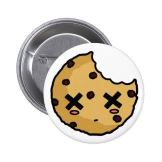 Botón del asesino de la galleta pin
