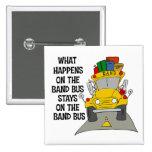 Botón del autobús de la banda pins