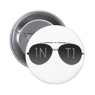 Botón del aviador de INTJ Pin Redondo De 2 Pulgadas