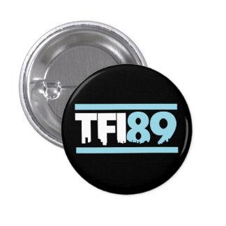 Botón del azul de TFI89 Carolina Pin