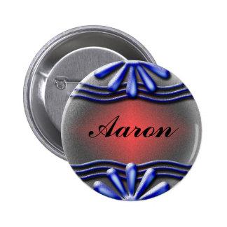 Botón del azul del letrero