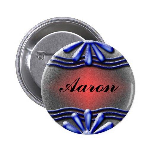 Botón del azul del letrero pins