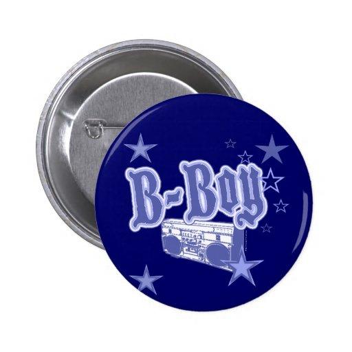 Botón del B-Muchacho Pins