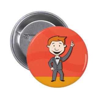 Botón del baile de Andy Pin