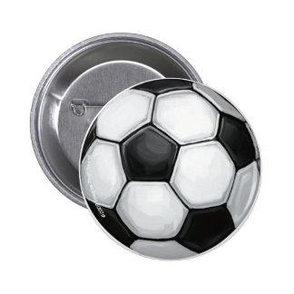 Botón del balón de fútbol