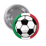Botón del balón de fútbol pin
