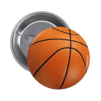 Botón del baloncesto pin redondo de 2 pulgadas