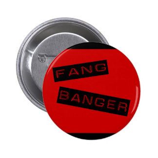 Botón del Banger del colmillo Pin Redondo De 2 Pulgadas