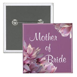 Botón del banquete de boda de las magnolias