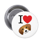 Botón del beagle pin