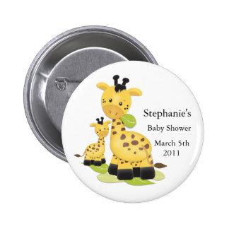 Botón del bebé de la jirafa del bebé pins