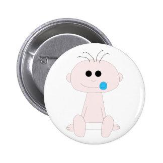 Botón del bebé pin