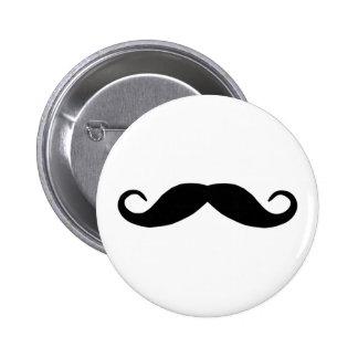 Botón del bigote pin