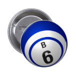Botón del bingo de B 6 Pin