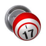 Botón del bingo I 17 Pins
