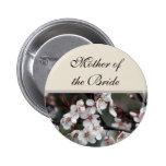 botón del boda de la flor del ciruelo