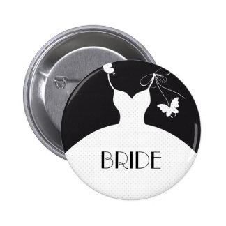 Botón del boda de la novia pins