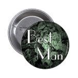 Botón del boda del jardín [el mejor hombre] pins