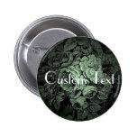 Botón del boda del jardín: Personalizado Pins