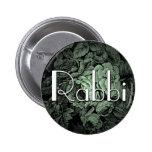 Botón del boda del jardín [rabino] pins