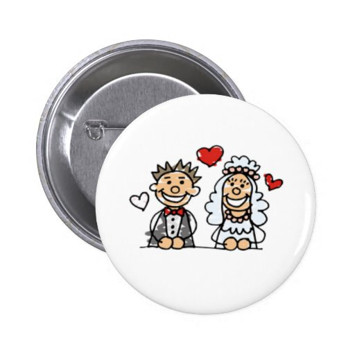 Botón del boda pins