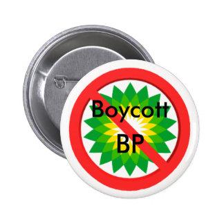 Botón del boicoteo pin redondo de 2 pulgadas