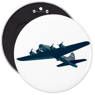 Botón del bombardero B52 Pins