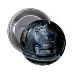 Botón del bombero de Houston Pins