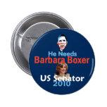 Botón del BOXEADOR 2010 Pin