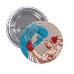 botón del boxeador pins
