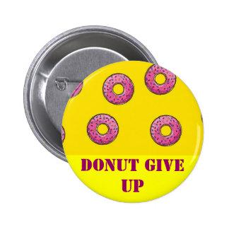 Botón del buñuelo pin redondo de 2 pulgadas