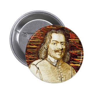 Botón del Bunyan de Juan Pin Redondo De 2 Pulgadas