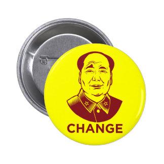 Botón del cambio de Mao Pins