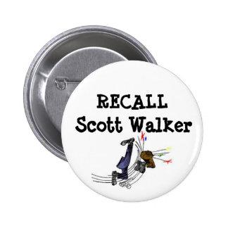 Botón del caminante de Scott de memoria Pin