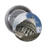 Botón del capitolio de Wisconsin Pin