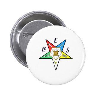 Botón del capítulo de OES Pin Redondo De 2 Pulgadas