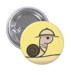 Botón del caracol del safari pin