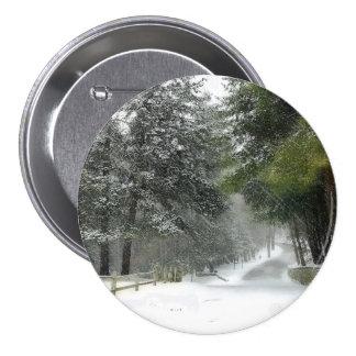 Botón del carril Nevado Pin