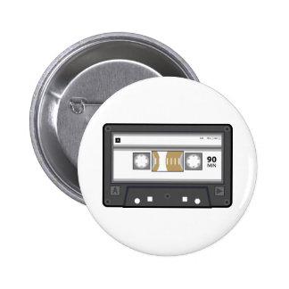 Botón del casete audio