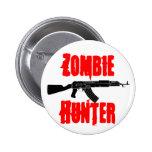 Botón del cazador del zombi pin