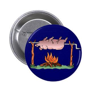 Botón del cerdo de la asación pin redondo de 2 pulgadas