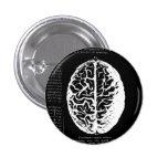Botón del cerebro pins