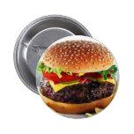 botón del cheeseburger pin