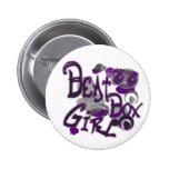 Botón del chica de Beatbox Pins