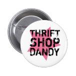 Botón del chulo de la tienda de ahorro pins