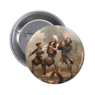Botón del chulo del Doodle del yanqui Pin