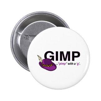 Botón del chulo del Gimp