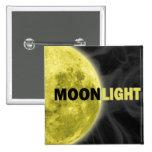 Botón del claro de luna pin
