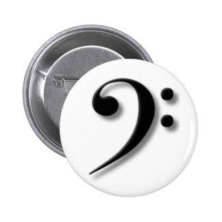 Botón del Clef bajo Pins